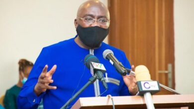 Photo of We'll develop Zongos with schools not mortuaries – Bawumia jabs NDC