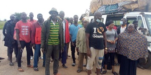 Photo of Wenchi: GIS arrests 26 Nigeriens for entering the country illegally