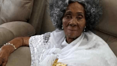 Photo of Jerry John Rawlings' mother dies aged 101