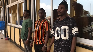 "Photo of A/R: Police arrest 3 ""deadly"" armed robbers (Audio)"
