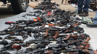 Photo of Over 1,200 seized firearms to be destroyed next month