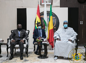 Photo of 'Thank you' – Mali's interim President tells President Akufo-Addo