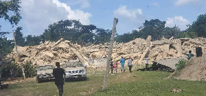 Photo of Church building collapses, 1 dead, others injured