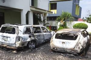 Photo of Vehicles of NDC Tema Central PC Ebi Bright burnt