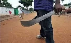 Photo of Group attacks teacher with cutlasses for seizing student's phone