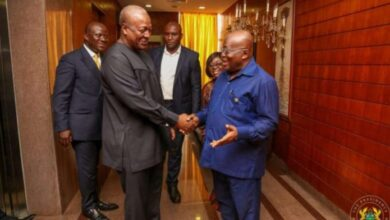Photo of You have become a democratic dictator – Mahama tells Akufo-Addo