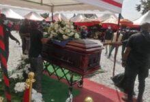 Photo of Photos: Mfantseman MP laid to rest