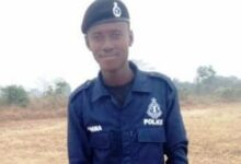 Photo of Two vehicles run over policeman at Techiman, drivers on the run