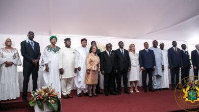 Photo of Akufo-Addo graces swearing-in ceremony of Alassane Ouattara, heads to Guinea for Alpha Condé's inauguration today