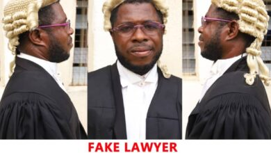 Photo of Fake Lawyer representing Western Togoland suspects arrested