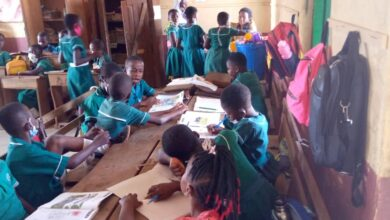 Photo of Videos + pictures: Pupils in Ashanti region go back to school amid COVID-19 upbeat