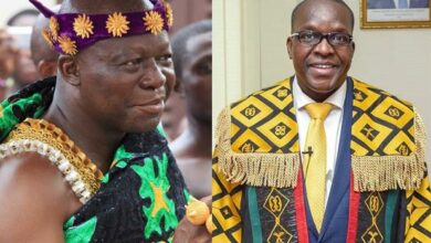 Photo of Bagbin meets Asantehene