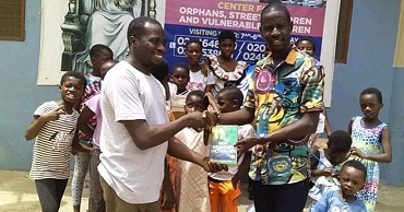 Photo of Shared Blessing Alliance sensitizes children in deprived communities to have interest in education