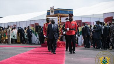 Photo of Akufo-Addo declares 2021 'second year of roads'