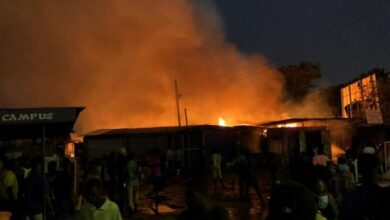 Photo of Boy, 13, burns beyond recognition in Buipe toll bridge fire