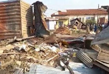 Photo of Over 100 shops demolished in Kumasi