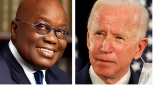 Photo of Joe Biden writes to Akufo-Addo, says he looks forward to the two of them working together