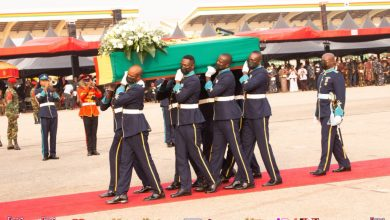 Photo of Photos from former President Jerry John Rawlings' burial service