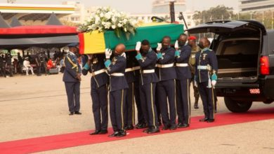 Photo of Burial service held for Jerry John Rawlings [Photos]