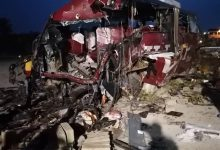 Photo of E/R: 16 dead in fatal crash involving two Buses at Akim Asafo