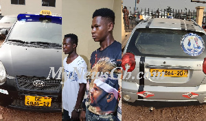 Photo of Ghana's biggest car snatching syndicate busted with 7 stolen cars