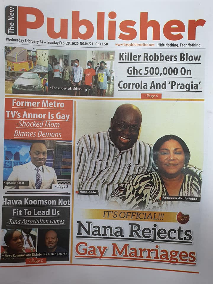 Newspaper headlines of Wednesday, February 24, 2021 86