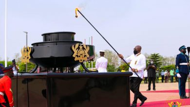 Photo of Photos from Independence Day: Akufo-Addo commits to revamping economy within a year