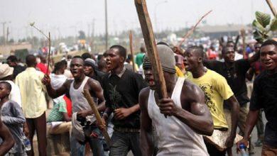 Photo of Kasoa ritual murder: Amanase residents attempt burning juju woman's shrine
