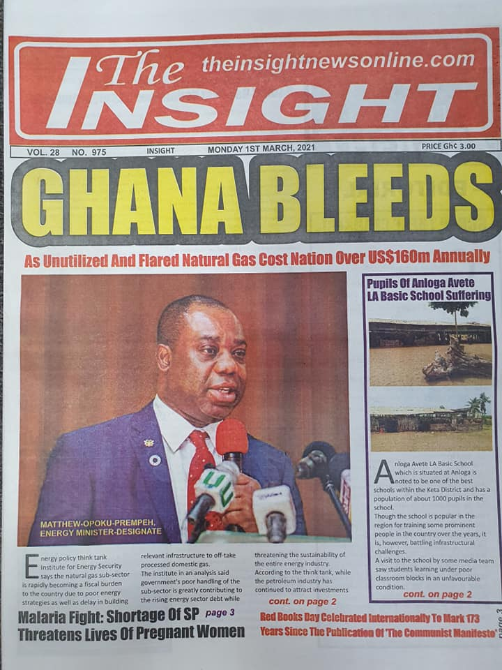 Newspaper Headlines of Monday, 1 March 2020 101