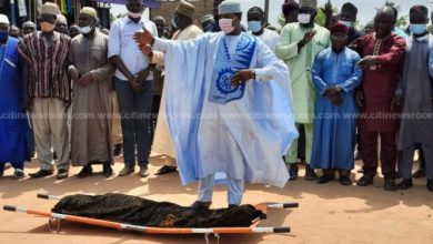 Photo of Kasoa ritual killing: Tears flow at funeral of slain 11-year-old