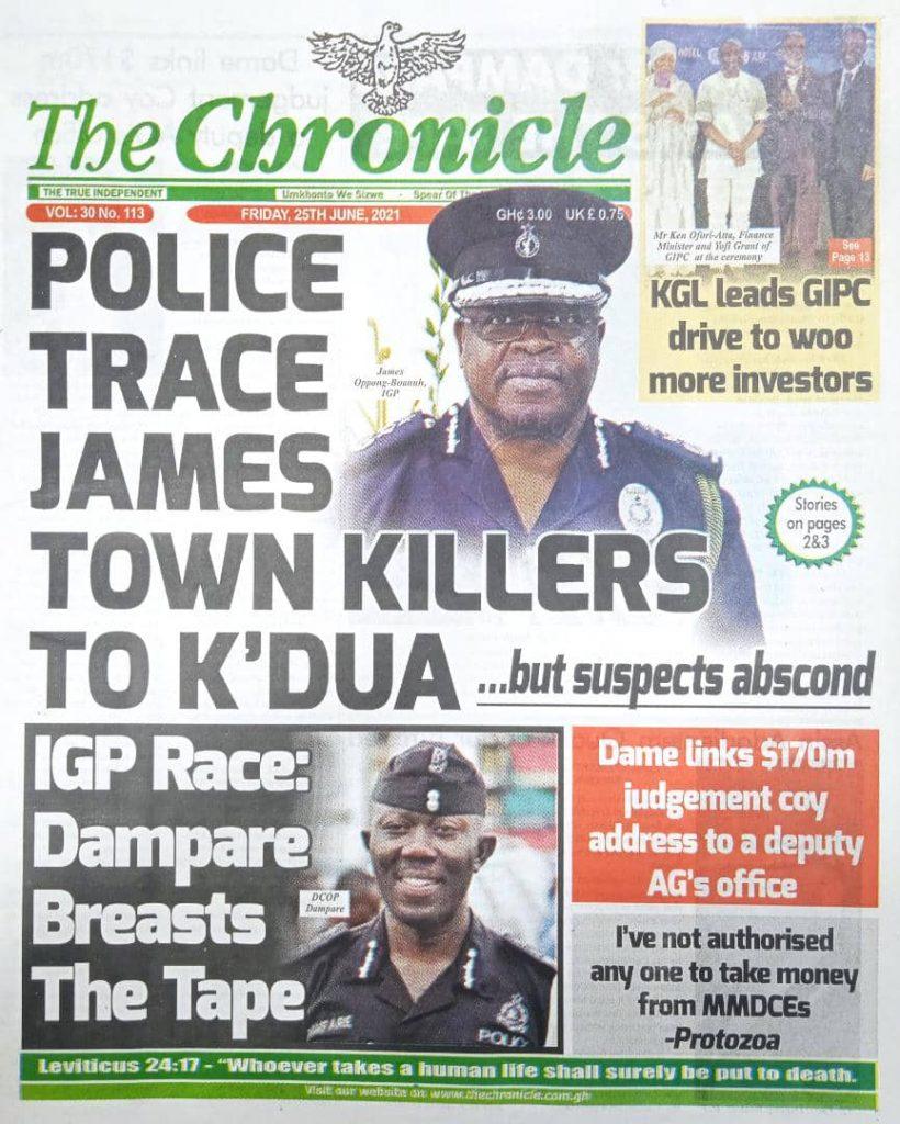 Newspaper headlines of Today, Friday June 25, 2021. 149