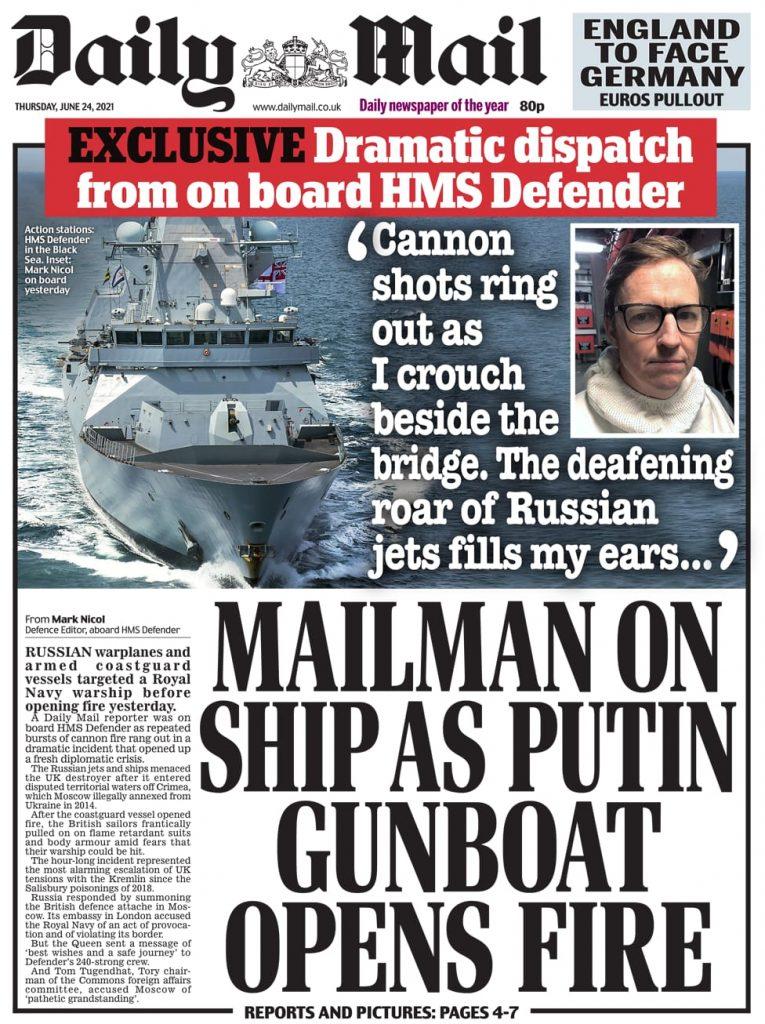 Newspaper headlines of Today, Friday June 25, 2021. 154
