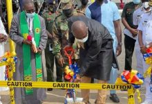 Photo of Ken Agyapong cuts sod to build cardio centre at 37 Military Hospital