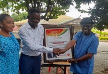 Photo of World Music Day: MUSIGA Ashanti honours OTEC FM's DJ Obolo