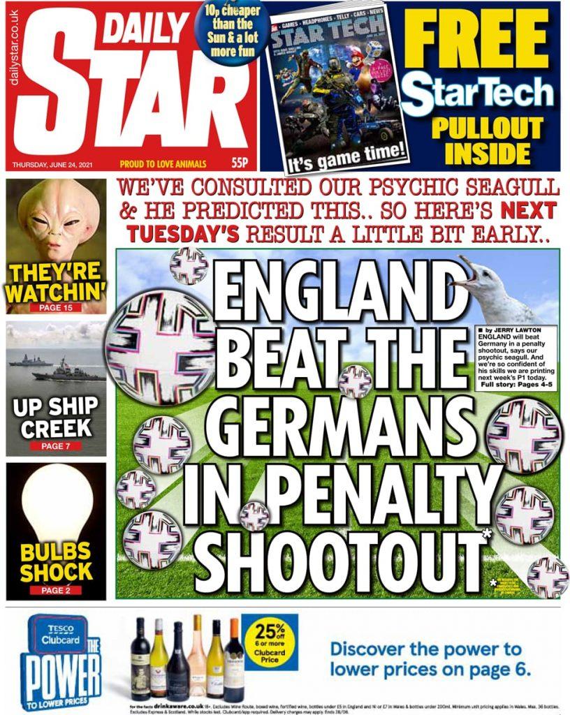 Newspaper headlines of Today, Friday June 25, 2021. 158