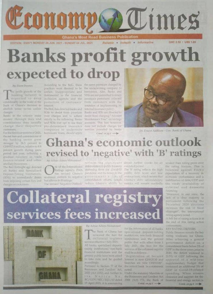 Newspaper Headlines Of Monday, June 28th, 2021. 108
