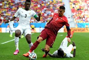 Photo of Asamoah Gyan reacts to Cristiano Ronaldo breaking his scoring record at major tournaments