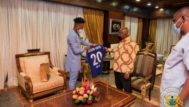 Photo of Abandon England and play for Ghana – Akufo-Addo to Hudson-Odoi