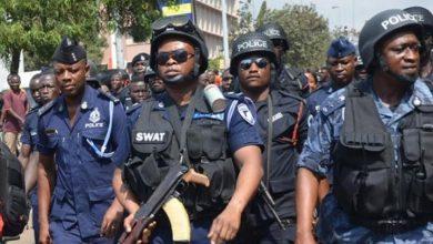 Photo of 215 suspected criminals arrested in post bullion van robbery attack swoop