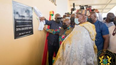 Photo of Akufo-Addo commissions 85-bed Central Gonja District Hospital