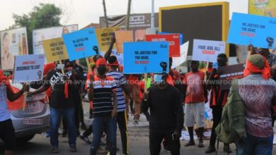 Photo of Protesters gather to kick-start NDC's 'march for justice' demo [Photos]