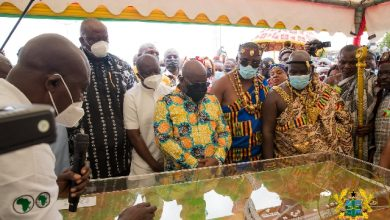 Photo of It's first-of-a-kind in West Africa: Akufo-Addo opens 4-tier Pokuase interchange
