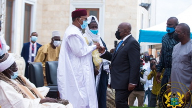 Photo of President Akufo-Addo commissions National Mosque complex